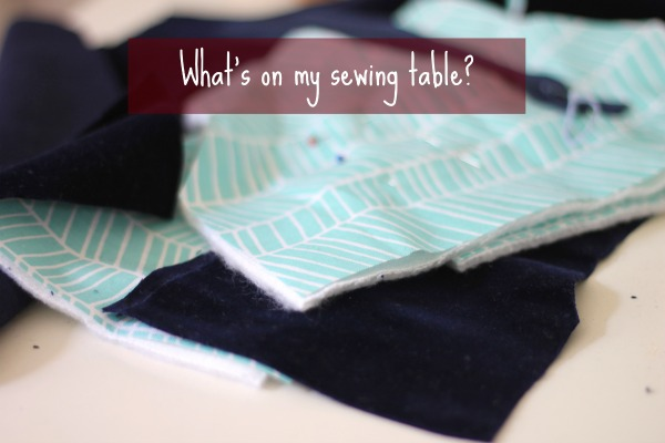 What's on my sewing table Kameratasche the jo