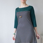 Coco Dress mit Passe – What I Made